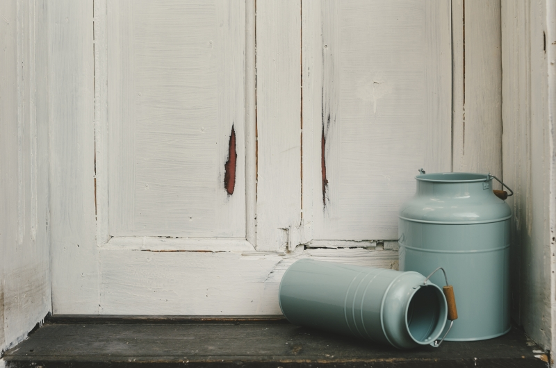 Milk canisters